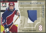 2005/06 ITG Heroes and Prospects #GUN54 Alexander Ovechkin Rookie Game Used Number Patch Gold /10