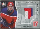 2005/06 ITG Heroes and Prospects #GUN49 Evgeni Malkin Rookie Game Used Number Patch /30