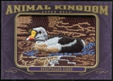 2012 Upper Deck Goodwin Champions Animal Kingdom Patches #AK132 Spectacled Eider LC