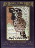 2012 Upper Deck Goodwin Champions Animal Kingdom Patches #AK149 Greater Roadrunner LC