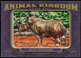 2012 Upper Deck Goodwin Champions Animal Kingdom Patches #AK150 White Rhinoceros NT