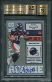 2010 Playoff Contenders #209A Demaryius Thomas Cutting Left Rookie Auto BGS 9.5 (GEM MINT) *9539