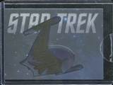 2014 Rittenhouse Star Trek TOS Portfolio Prints Case-Toppers #CT2 Romulan Warbird Portrait /400