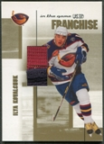 2003/04 ITG Used Signature Series #2 Ilya Kovalchuk Franchise Gold Jersey /10