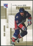 2003/04 ITG Used Signature Series #20 Eric Lindros Franchise Gold Jersey /10