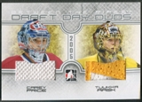 2008/09 Between The Pipes #DDD05 Carey Price & Tuukka Rask Draft Day Duos Jersey /50