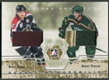 2007/08 ITG Heroes and Prospects #DM05 Bobby Ryan & Benoit Pouliot Gold Jersey /10