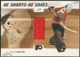 2002/03 Between the Pipes #29 Bernie Parent He Shoots He Saves Jersey /20