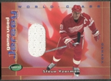 2001/02 Parkhurst #WCJ1 Steve Yzerman World Class Jersey /80