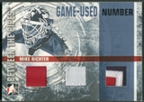2006/07 Between The Pipes #GUN65 Mike Richter Numbers Triple Patch /10