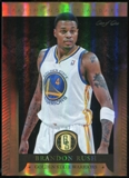 2012-13 Panini Gold Standard Black #174 Brandon Rush Serial # 1/1