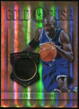 2012-13 Panini Gold Standard Gold Rush #84 Glen Rice 14K GOLD serial #16/25