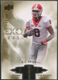 2010 Exquisite Collection #ERAG A.J. Green Draft Picks Rookie #23/99