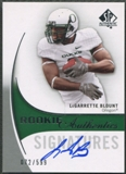 2010 SP Authentic #168 LeGarrette Blount Rookie Auto #072/599