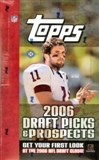 2006 Topps Draft Picks and Prospects Football Hobby Box