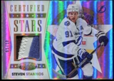 2012-13 Certified Stars Materials Mirror Gold Patch #3 Steven Stamkos Serial #5/10