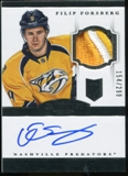 2013-14 Dominion #170 Filip Forsberg Patch Autograph Serial #154/299 Rookie RC