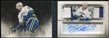 2013-14 Panini Playbook Signature Patches Booklet #SBRK Ryan Kesler 4/10