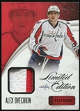 2013-14 Panini Playbook Limited Edition Jerseys Prime #LEOVI Alex Ovechkin 20/25