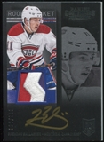 2013-14 Panini Contenders Patch Autographs #266 Brendan Gallagher 92/100 Rookie Patch