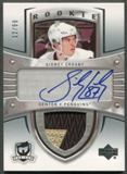 2005/06 The Cup #180 Sidney Crosby Rookie 2 Color Patch Auto #12/99