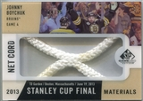 2013-14 Upper Deck SP Game Used Stanley Cup Finals Materials Game 4 Net Cord #G4JB Johnny Boychuk 4/25