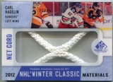 2013-14 Upper Deck SP Game Used Winter Classic Materials Net Cord #WCNCCH Carl Hagelin 21/25