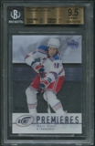 2007/08 Upper Deck Ice #223 Marc Staal Rookie #82/99 BGS 9.5 (GEM MINT)