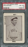 1913 Tom Barker Game Baseball #34 Tris Speaker PSA 8 (NM-MT)