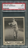 1940 Play Ball Baseball #41 Charley Gehringer PSA 7 (NM)