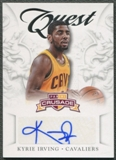 2012/13 Panini Crusade #4 Kyrie Irving Quest Auto