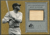 2001 SP Legendary Cuts #BBR Babe Ruth Game Bat SP
