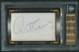 2010 Razor Cut Signature Edition Art Carney Auto #7/7