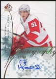 2009/10 Upper Deck SP Authentic Chirography #VF Valtteri Filppula 36/50