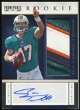 2012 Panini Prominence #228 Ryan Tannehill RC 25/90 Rookie Patch Autograph