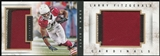 2014 Panini Playbook Down and Dirty Jerseys Prime #3 Larry Fitzgerald 2/10 Patch