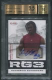 2012 SAGE #3 Robert Griffin III RG3 Rookie Auto #10/10 BGS 9.5 (GEM MINT)