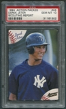 1994 Action Packed #43 Derek Jeter Scouting Report PSA 10 (GEM MT)