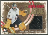 2006/07 Between The Pipes #GG04 Marc-Andre Fleury Game-Used Glove Gold /10