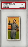 1909  White Borders (Piedmont 350) WIld Bill Donovan Throwing PSA 3.5 (VG+) *5639