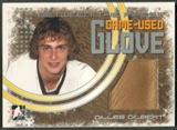 2006/07 Between The Pipes #GG07 Gilles Gilbert Game-Used Glove /50