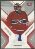 2002/03 Between the Pipes #14 Jose Theodore Emblem /10