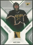 2002/03 Between the Pipes #19 Marty Turco Emblem /10