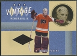 2002/03 Between the Pipes #19 Bernie Parent Vintage Memorabilia Jersey /20