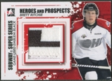 2011/12 ITG Heroes and Prospects #SSM21 Brett Ritchie Subway Series Black Emblem /6