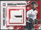 2011/12 ITG Heroes and Prospects #SSM22 Ryan Spooner Subway Series Black Emblem /6