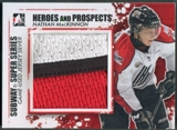 2011/12 ITG Heroes and Prospects #SSM15 Nathan MacKinnon Subway Series Silver Jersey /60