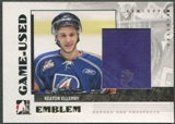 2007/08 ITG Heroes and Prospects #GUE17 Keaton Ellerby Emblem /30