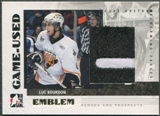 2007/08 ITG Heroes and Prospects #GUE15 Luc Bourdon Emblem /30