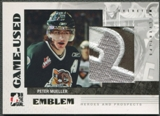 2007/08 ITG Heroes and Prospects #GUE13 Peter Mueller Emblem /30